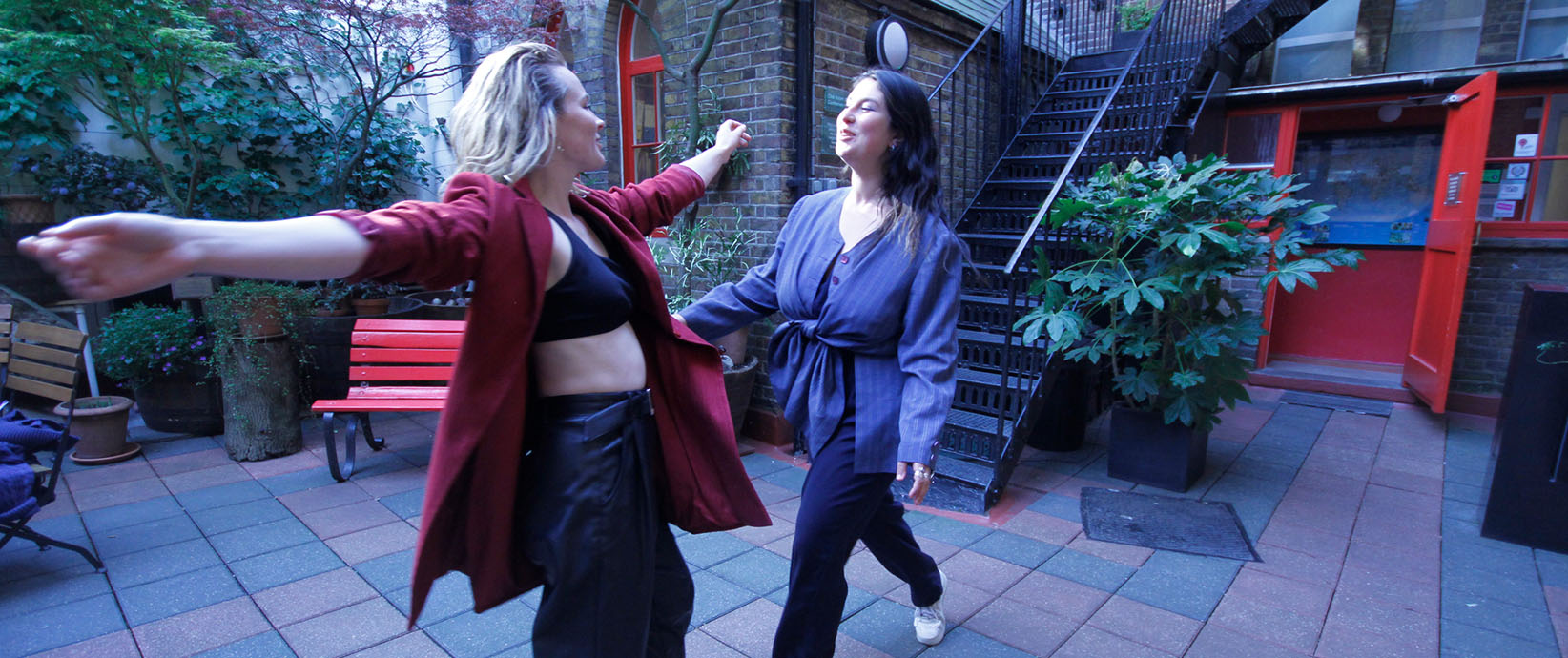 Maddie Mellon is a London based artist and movement practitioner